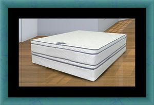 Queen mattress double pillowtop with box spring for Sale in Takoma Park, MD