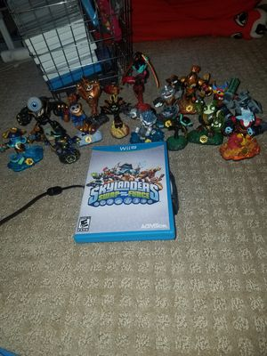 Skylanders Game/Figures (Wii U) for Sale in Salt Lake City, UT