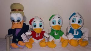 Photo Rare New in tags Disney The Three Caballeros complete set Beanie Babies