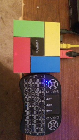 Tv box T95Kse with keyboard remote $50, used for sale  US