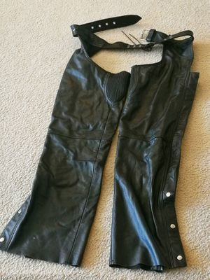 Motorcycle Leather Man Chaps XL for Sale in Rockville, MD