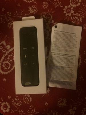 Apple Siri Remote Control 4th Generation for Sale in Arlington, VA