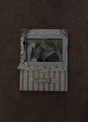 Wedding picture frame for Sale in Columbus, OH