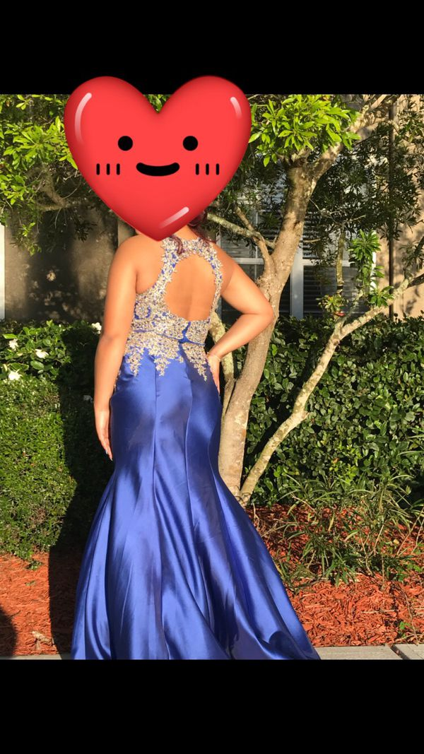 Prom Dress Brand New Worn Once Size 12 14 For Sale In Tampa Fl