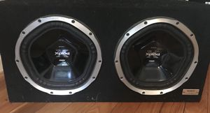 Sony xplode 12 in subwoofers in box for Sale in Alexandria, VA