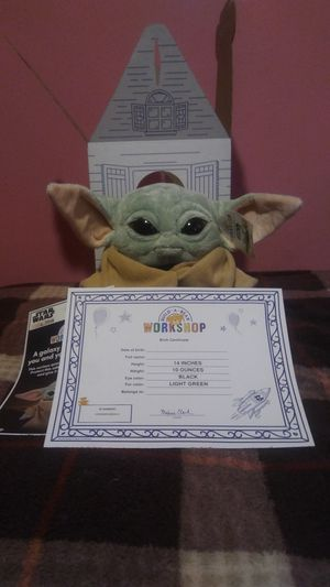 Photo Build A Bear Star Wars Mandalorian The Child (Baby Yoda) 5 in 1 Bundle rare.