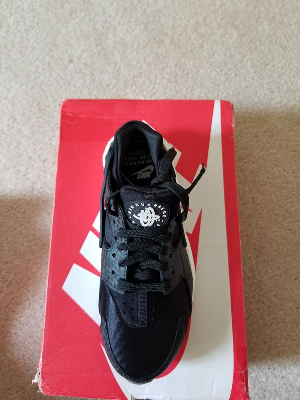 New Womens Nike Huarache Run Premium Shoes Running Training Casual 6.5  black (Clothing   Shoes) in Dallas 498afb85a