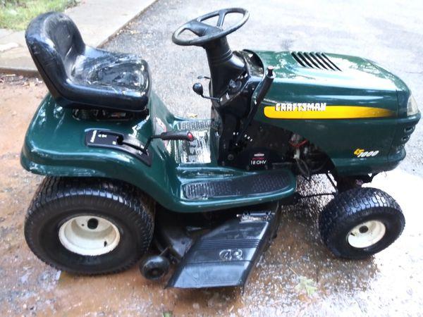 Craftsman Lt1000 Riding Mower >> Craftsman Lt1000 Riding Lawn Mower For Sale In Spartanburg Sc Offerup