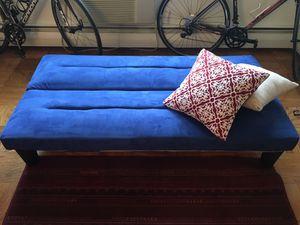 Blue Futon Original Price 200 For In Cambridge Ma
