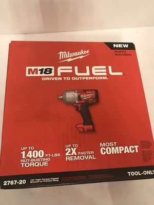 Milwaukee M18 FUEL Brushless 1/2 in Impact Wrench w/ Friction Ring for Sale in Orlando, FL