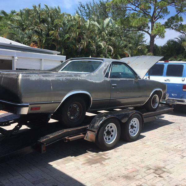 1981 Elcamino For Sale In Delray Beach, FL
