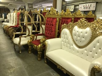 Beautiful throne chair.$2200. Best offer Thumbnail