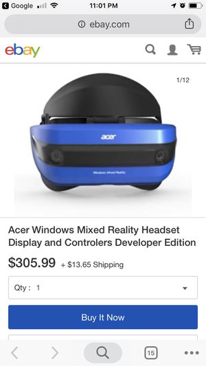 VR headset: Acer windows mixed reality headset for Sale in Seattle, WA