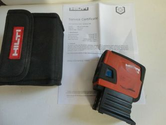 Hilti laser pcm 46 Thumbnail
