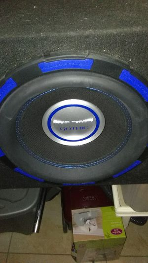 Gothic Power Acoustik 2./ 12 in with box for Sale in Clearwater, FL