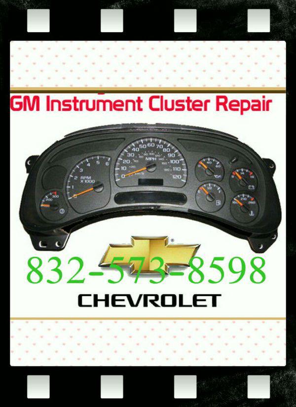 1999 tahoe instrument cluster repair