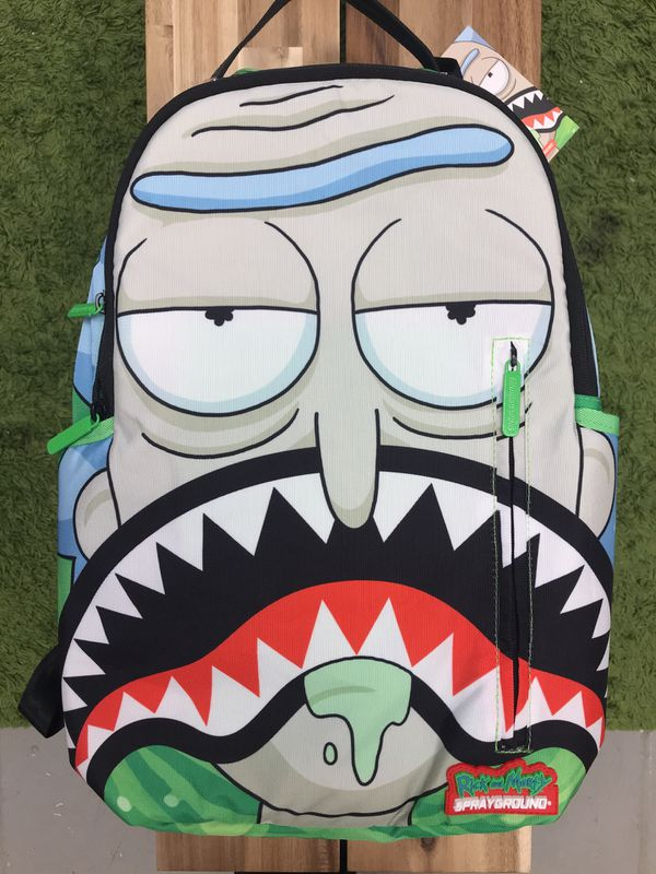 986accef8f3bd3 Sprayground X Rick and Morty sharkmouth Rick for Sale in Washington ...