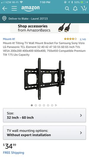 Please buy this wall mount from amazon for my moms office for Sale in Laurel, MD