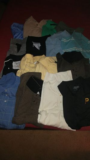 16 mens 2xl Shirts for Sale in Harrison City, PA