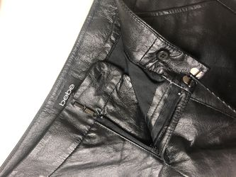Bebe Leather Shorts Thumbnail