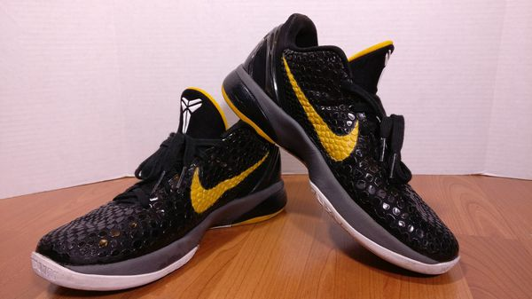 new york f1768 ec4c2 USED Nike Zoom Kobe 6 Del Sol