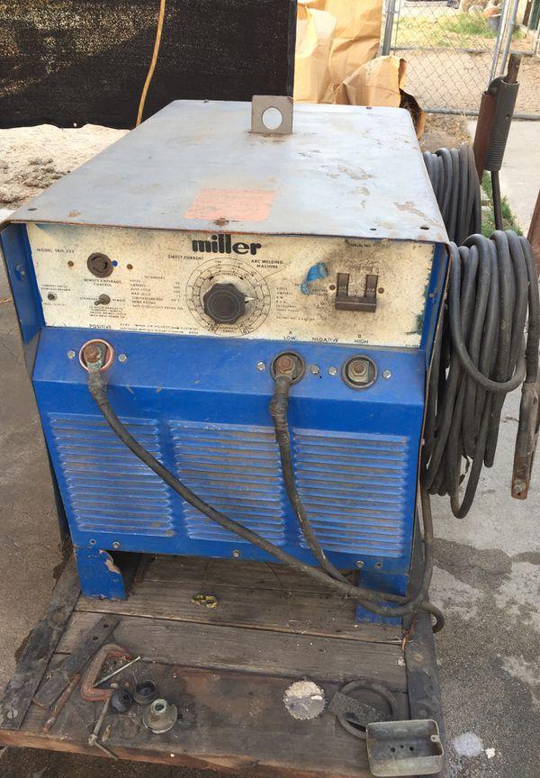 Miller Arc Welder >> Miller Arc Welder Mdl Srh 333 For Sale In Highland Ca Offerup