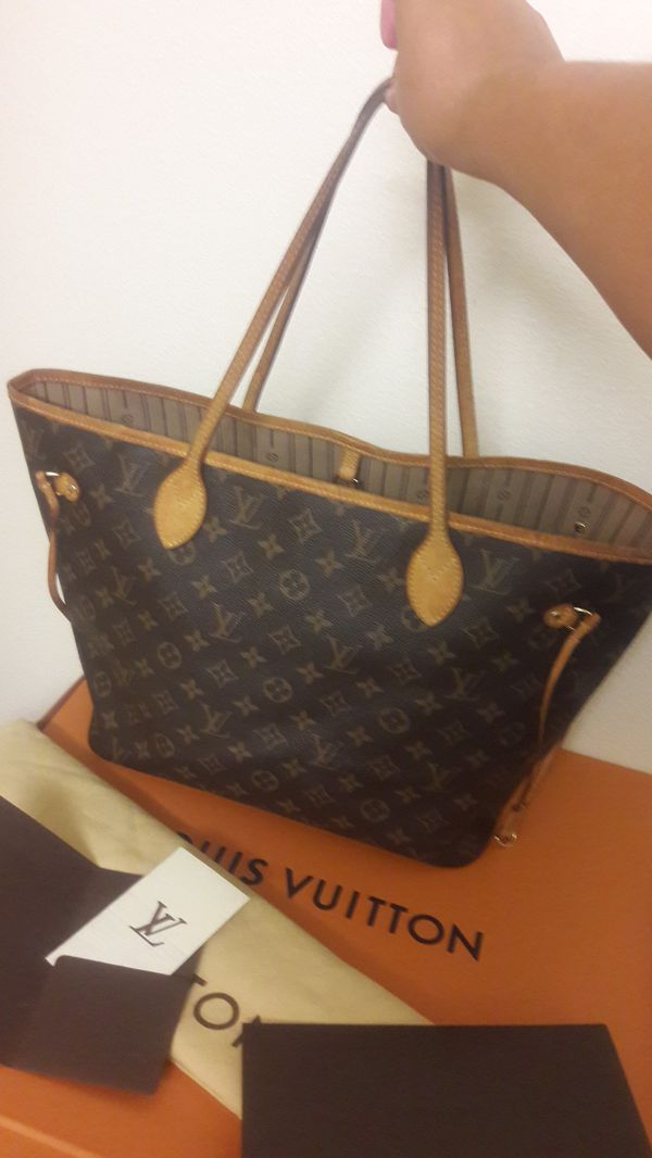 b7d124923426 100% AUTHENTIC LOUIS VUITTON MONOGRAM NEVERFULL MM LIKE NEW for Sale ...