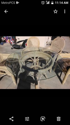 Brand new patio furniture with leopard chairs for Sale in HUNTINGTN BCH, CA