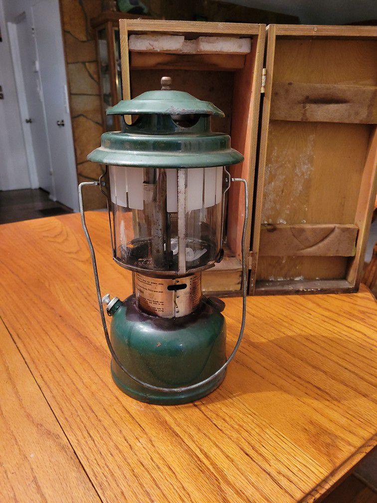 Vintage 220j 2 Mantle Lantern