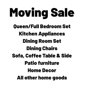 Moving Sale - Message to make Appoinment for Sale in Ashburn, VA