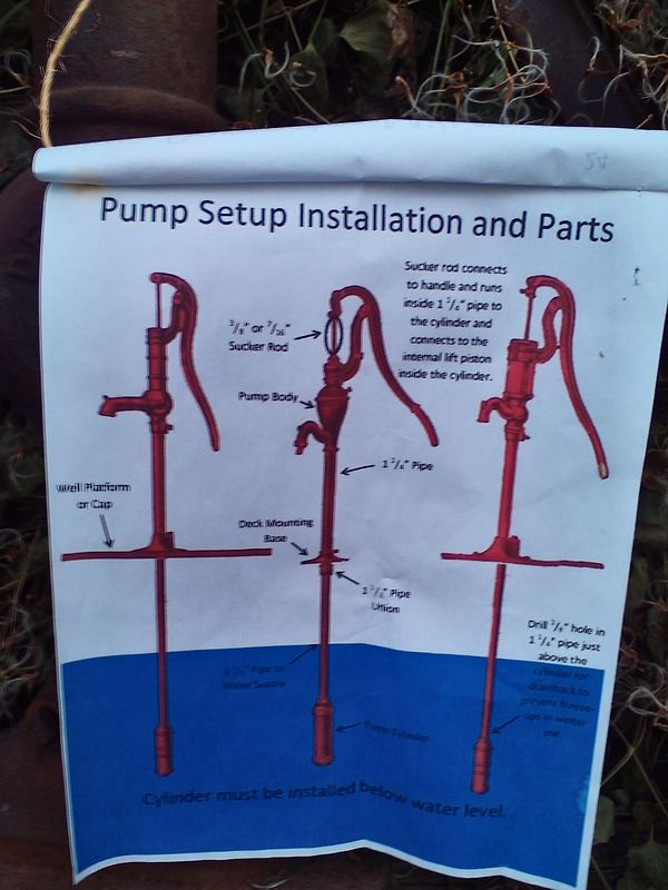 Vintage Dempster Mill Mtg water Pump 224F (Antiques) in Grand Rapids ...