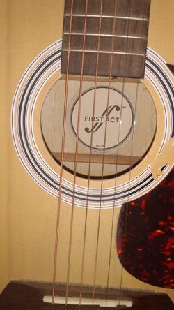 """36"""" First Act Acoustic Guitar MG381 with Strap Thumbnail"""