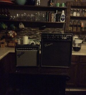 US mail postmaster General &keyboards and fender & premier amps for Sale in Cleveland, OH