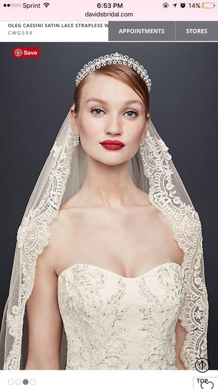 Oleg cassini wedding dress clothing shoes in hialeah fl offerup junglespirit Images