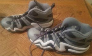 9e6c291e3 Black Aluminum Adidas Crazy 8 Kobe Bryant Basketball Sneakers Size 9 for  Sale in Queens
