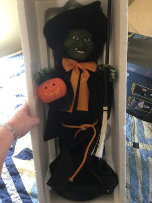 Vintage Halloween witch for Sale in Walkersville, MD