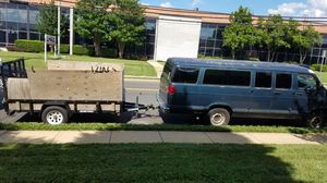 LARGE cargo van & 10 ft trailer -moving, delivery Etc for Sale in Chevy Chase, MD