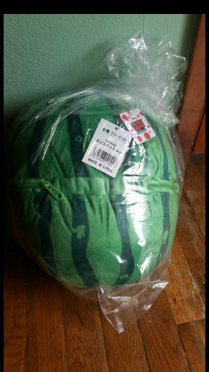 Watermelon Zippered cushion plush from Japan -licensed Disney for Sale in Lorain, OH