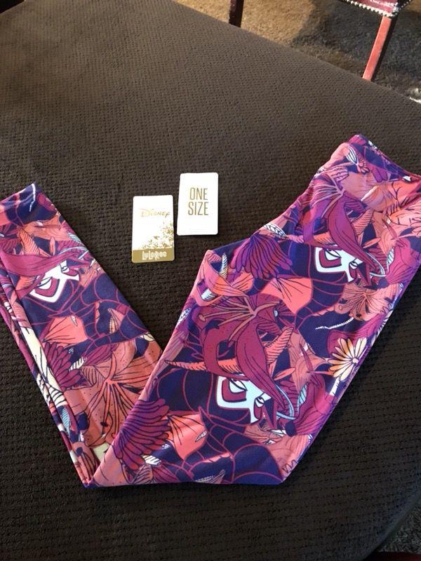 9ba2fc96be1e45 Brand new OS little Lularoe maleficent leggings for Sale in Menifee ...