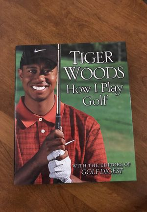 Tiger Woods How I Play Golf for Sale in Scottsdale, AZ