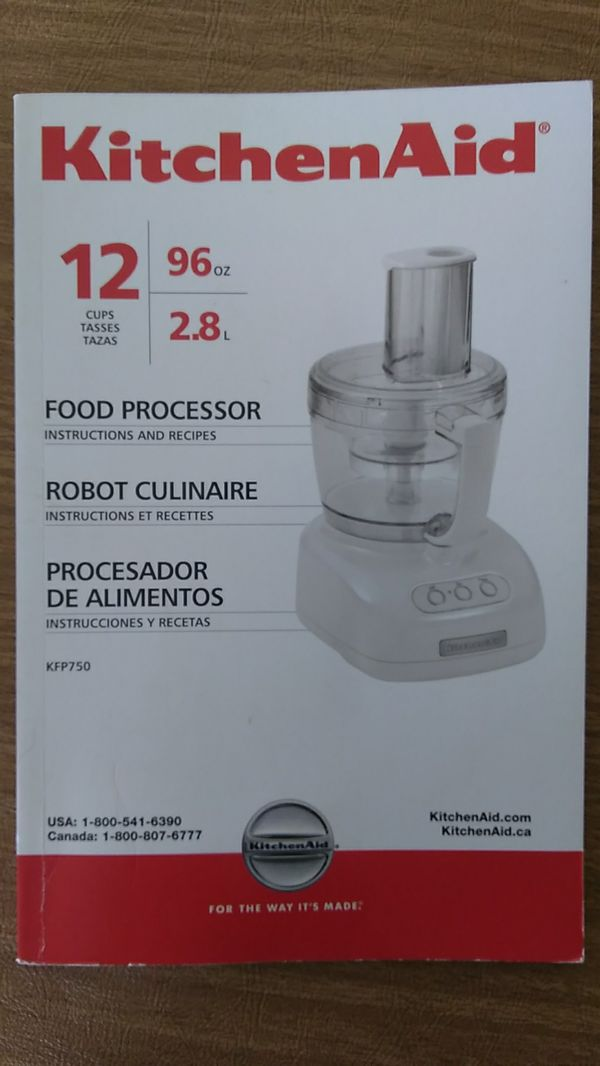 Kitchen Aid Food Processor 12 Cup For Sale In Yukon Ok Offerup