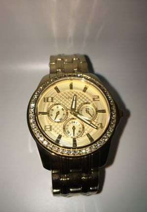Photo 14k gold plated Guess Watch