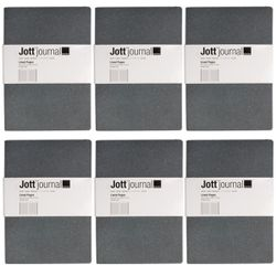 "Design Ideas (6 Pack) Soft Cover Jott Journal For Women, Journal For Men 96pg Writing Journal, Ruled Journal, 5.75"" x 8.25"" Thumbnail"
