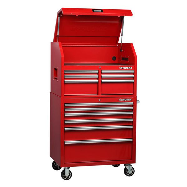 Brand New Husky 36in 2 Drawer Tool Chest And Cabinet Combo