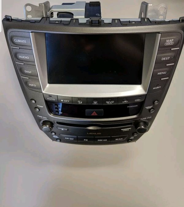 Lexus IS NAVIGATION AND RADIO SYSTEM For Sale In San