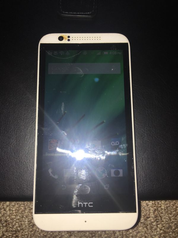Htc Desire 510 Opcv1 Clean White Android 4gb Boost Mobile