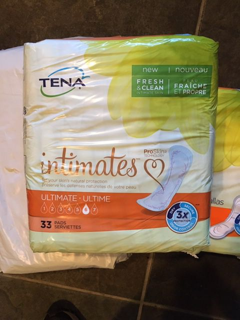 Women's adult diapers/underwear/pads