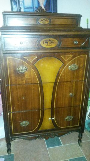 Beautiful solid cherry and mahagony chest for Sale in Silver Spring, MD