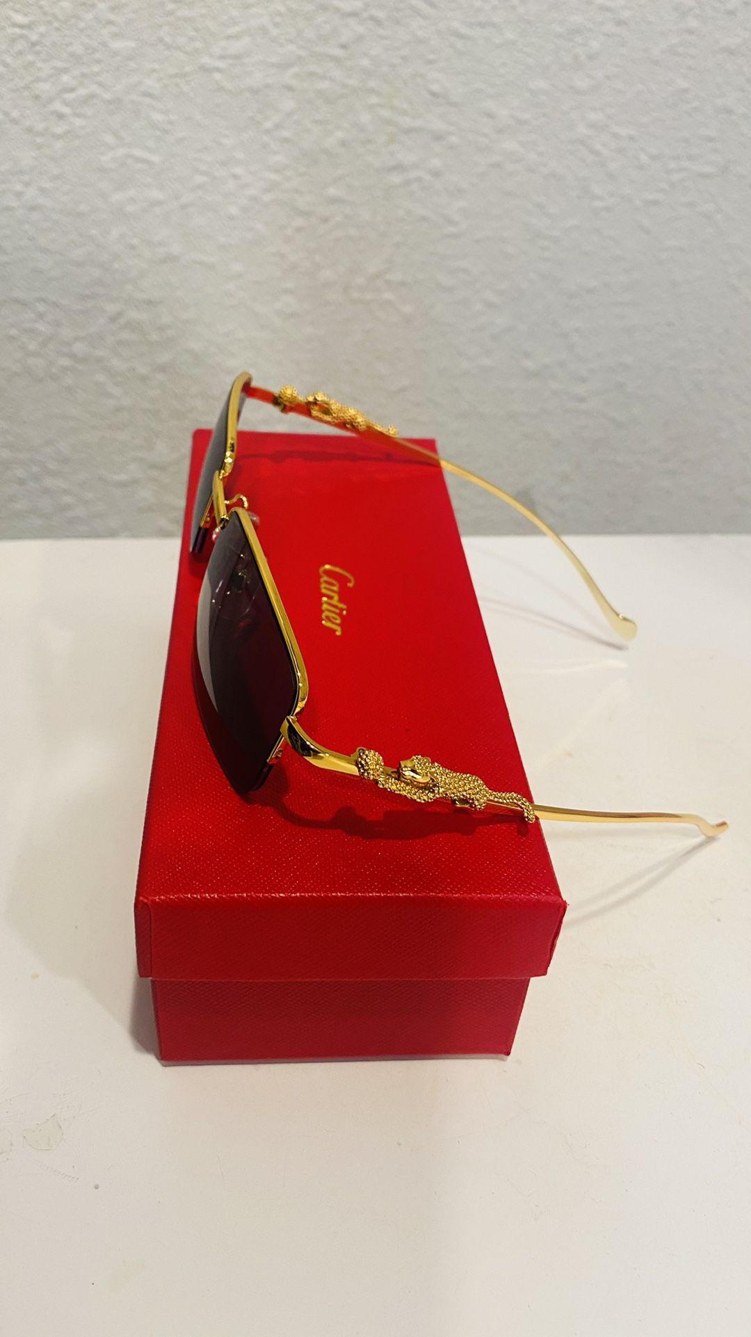Cartier Brown sunglasses
