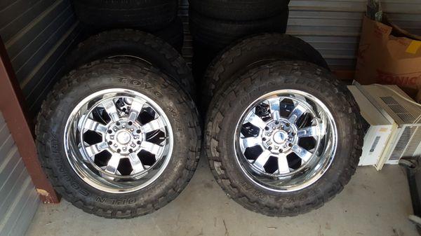 20 inch 8 lug chrome Chevy rims for Sale in Nashville, TN ...